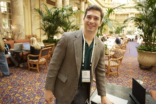 "This guy just won a ""mint"": Aaron Patzer, CEO of Mint Software 