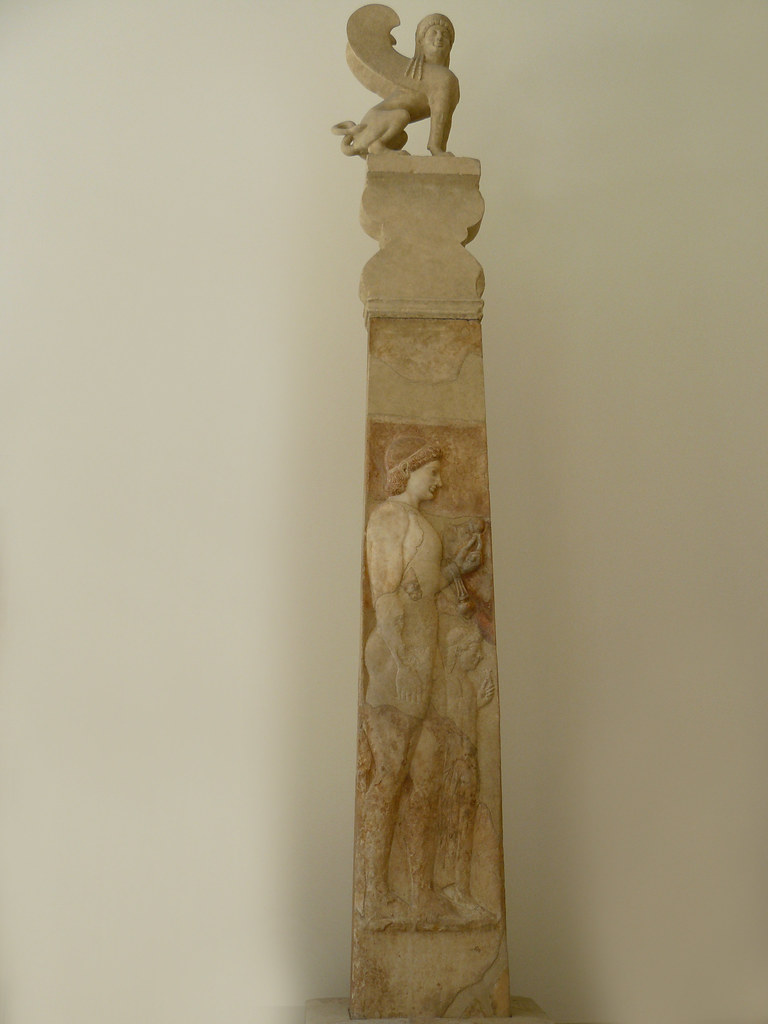 An examination of greek grave steles