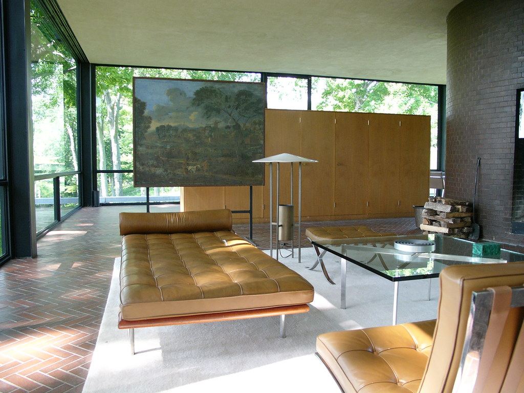 philip johnson new canaan philip johnson glass house n flickr. Black Bedroom Furniture Sets. Home Design Ideas