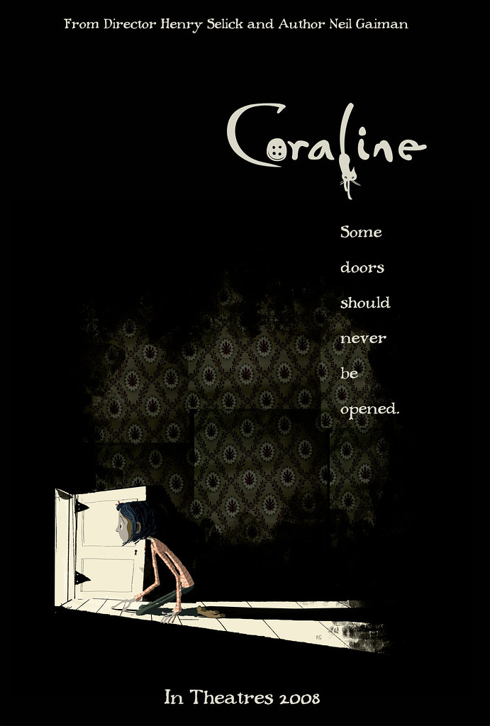 Coraline neil gaiman book report