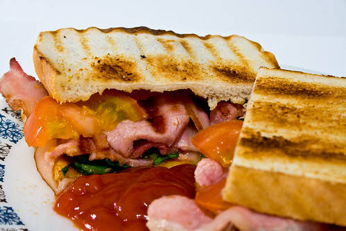Bacon Sandwich | by Christian Cable