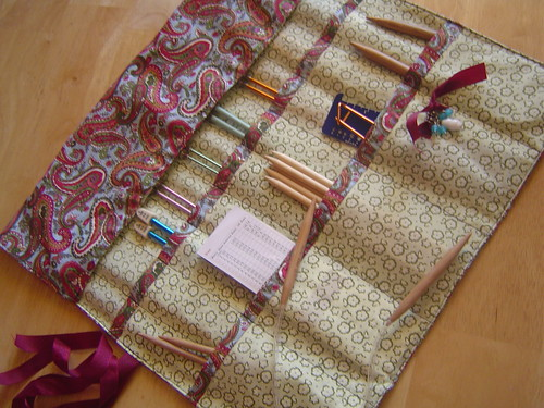 Pattern Knitting Needle Case : Knitting Needle Case *Tutorial on my blog!* Flickr ...