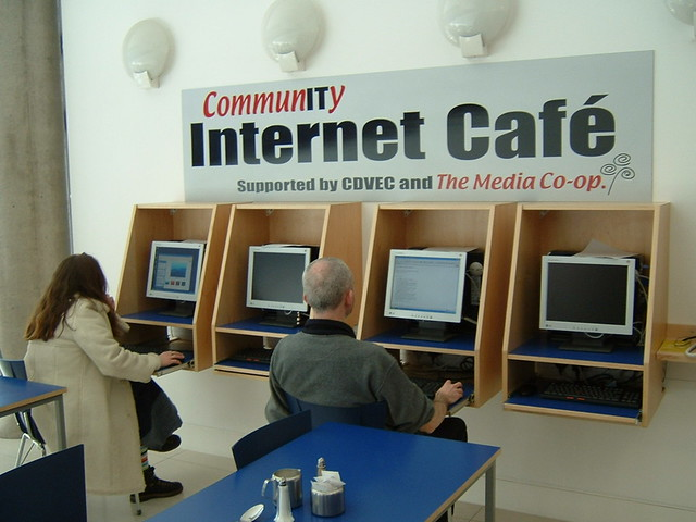 Internet Cafe Near Notting Hill Gate Station