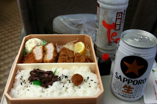 my bento box lunch aboard the shinkansen japanese bullet. Black Bedroom Furniture Sets. Home Design Ideas
