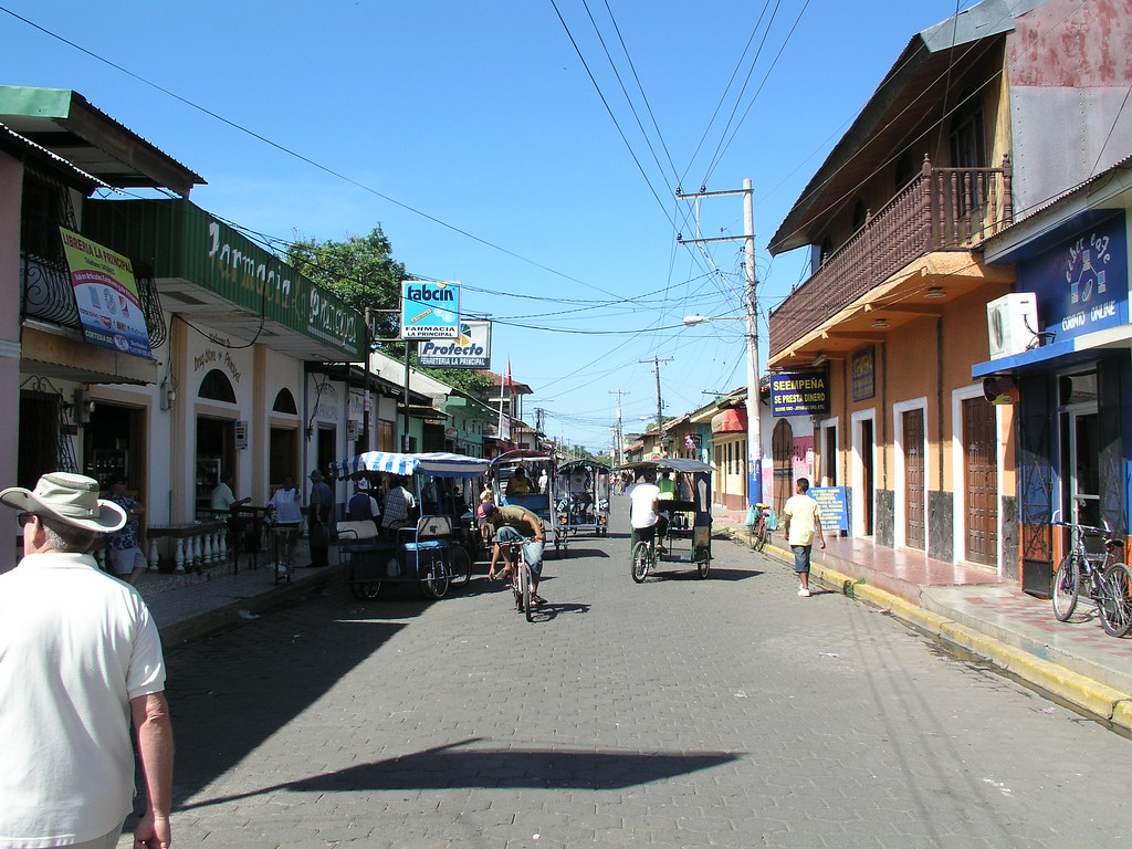 walking the streets of puerto corinto  nicaragua