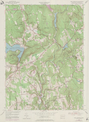 New Preston Quadrangle 1971 - USGS Topographic Map 1:24,000 | by uconnlibrariesmagic