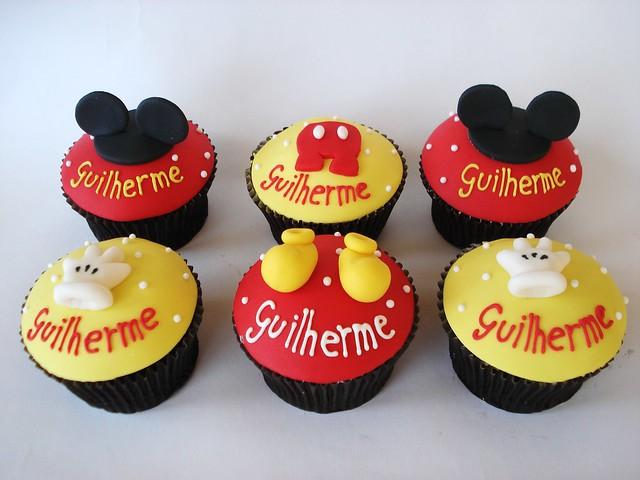 Cupcakes de micky Mouse - Imagui