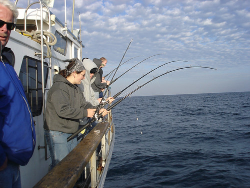 Students Enjoying a Deep Sea Fishing Trip | by California State University Channel Islands