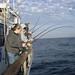 Students Enjoying a Deep Sea Fishing Trip