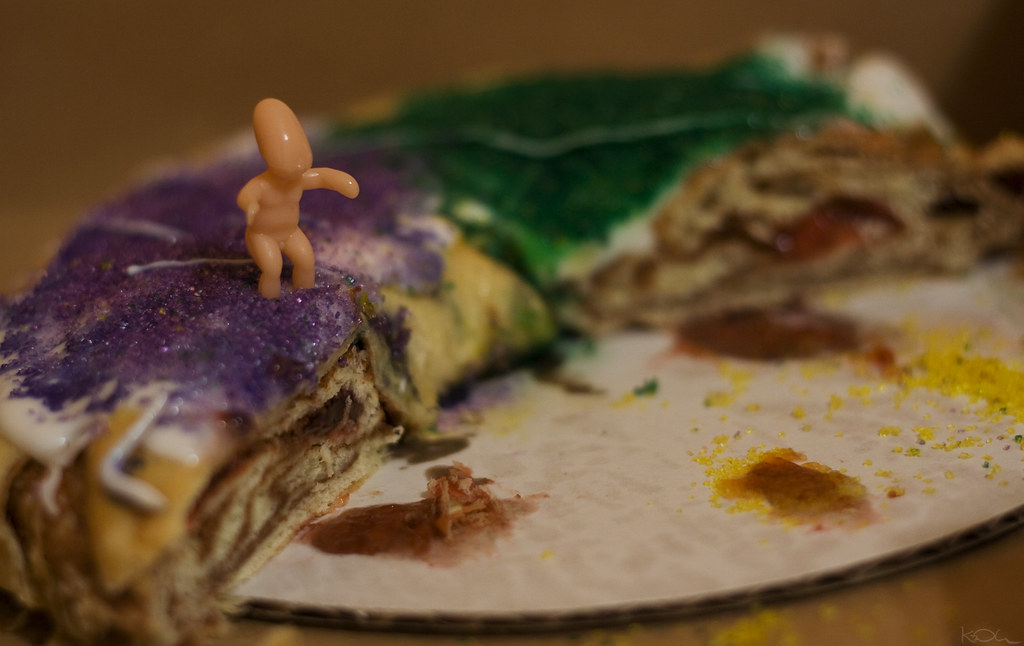 King Cake Baby Dolls In Metalic Colors