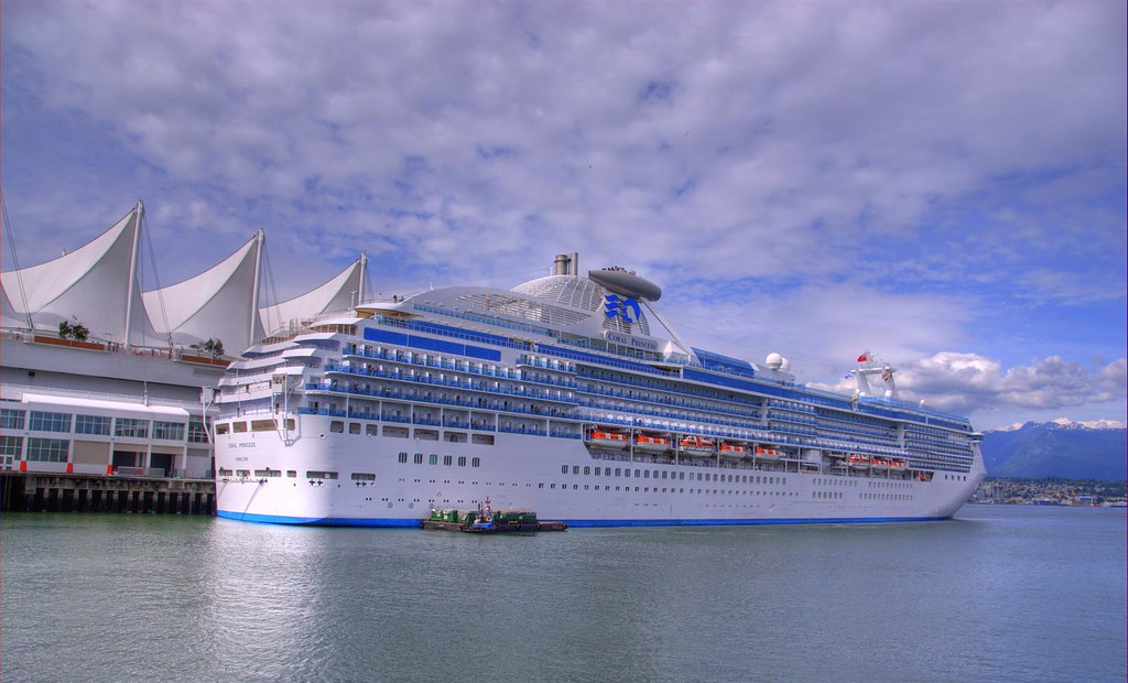 Princess Cruises Vancouver Coral Princess Cruise Ship Doc Flickr