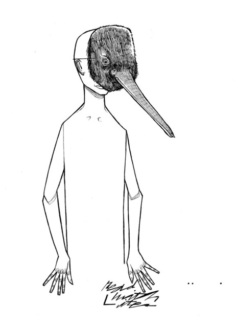 KIWI BIRD MASK | This Is A New Drawing That Is Going To Becou2026 | Flickr