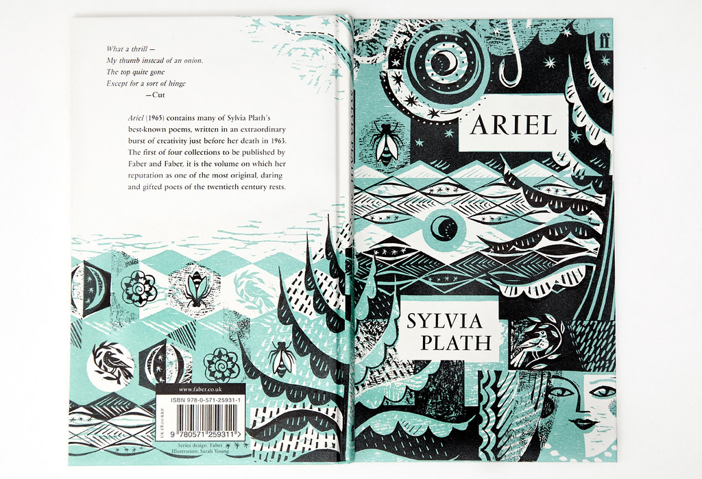 Illustrated Book Cover Quote : Ariel by sylvia plath illustrated sarah young flickr