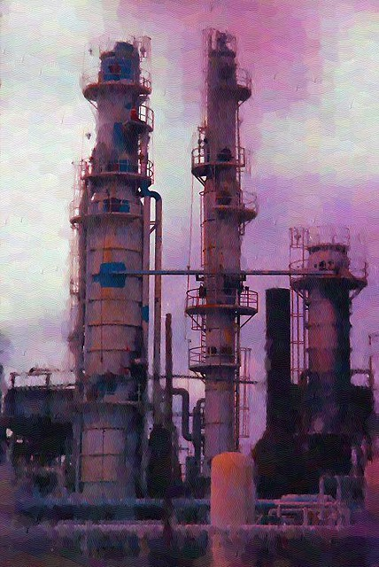 Distillation Columns, Oil Refinery (Houston Texas) - Flickr