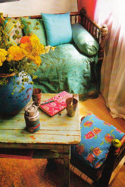 decoraci n hind myrna y sara. Black Bedroom Furniture Sets. Home Design Ideas
