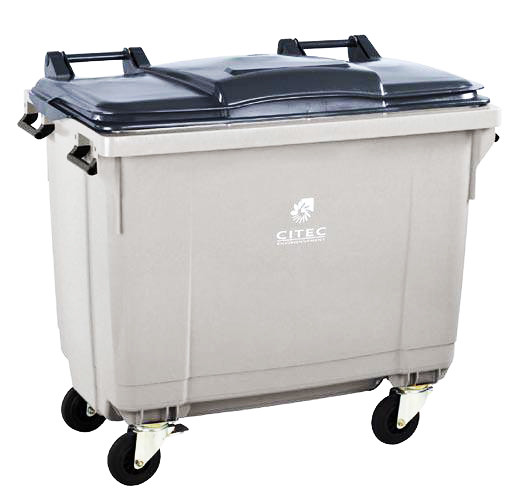 conteneur poubelle citec 660 litres conteneur poubelle mar flickr. Black Bedroom Furniture Sets. Home Design Ideas