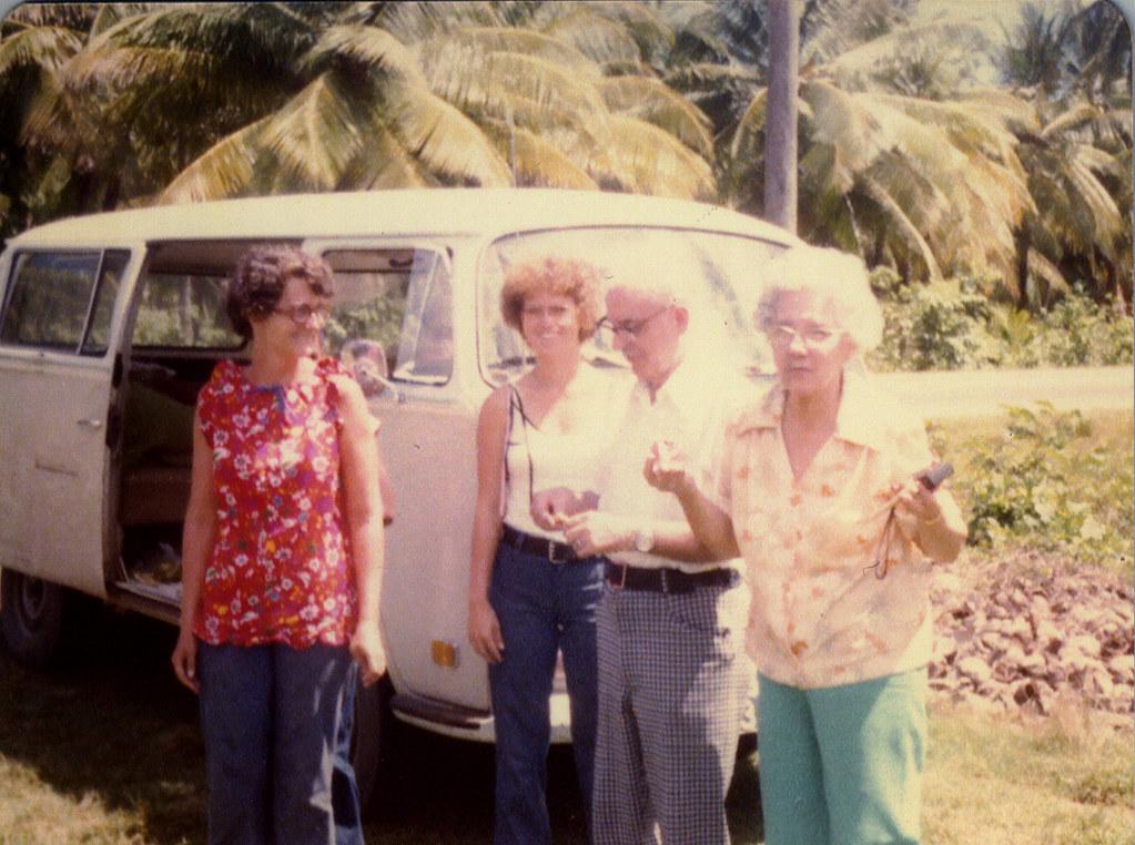 Georgetown 1977 Marceline Jones Parents Visit Laura