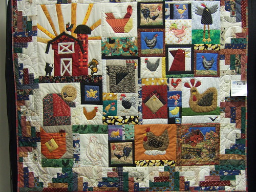 Chicken Quilt | by Merry Antoinette