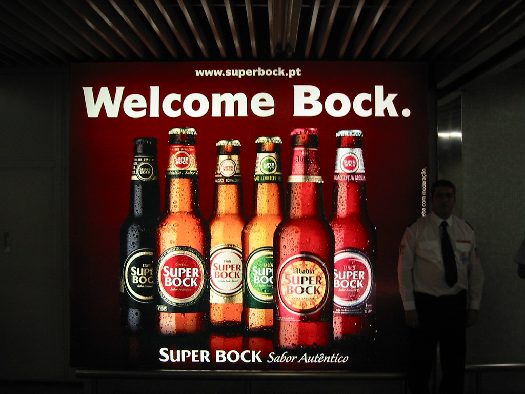 Portugal Beer Bock Super Bock Portuguese Beer