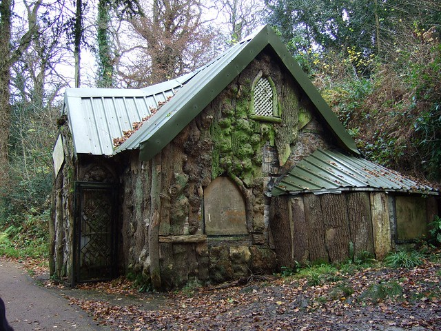 Fairytale house emsee flickr for Remote cabin plans