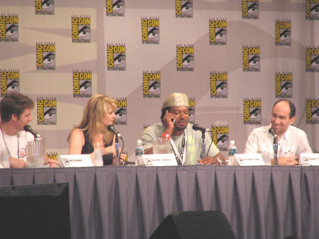 Stargate SG-1 Panel #47 | Christopher Judge trying to get ...