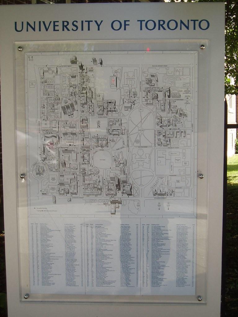 U O F T Campus Map.Uoft Campus Map Kaloian Manassiev Flickr