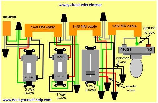 4 way dimmer el jefe flickr house wiring diagram examples house wiring diagrams for lights