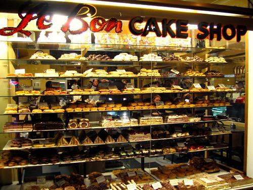 Le Bon Cake Shop Acland Street