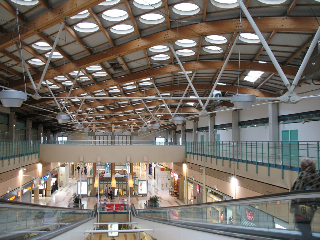 Bercy 2 shopping centre charenton le pont by renzo for Charenton le pont piscine