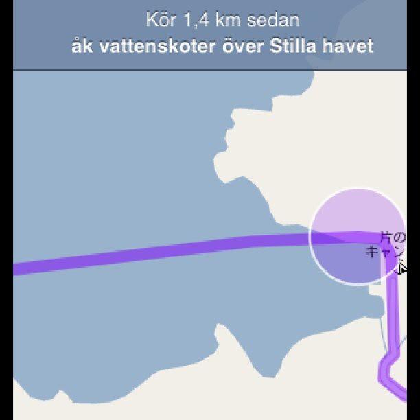google maps vägbeskrivning
