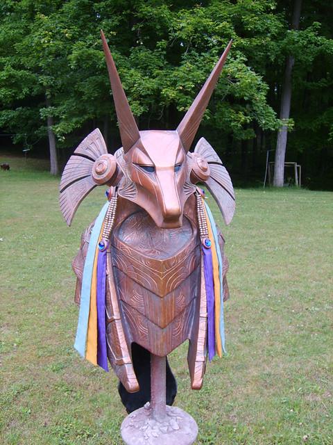 Stargate Anubis Armor Helmet Prop | A fellow named ...