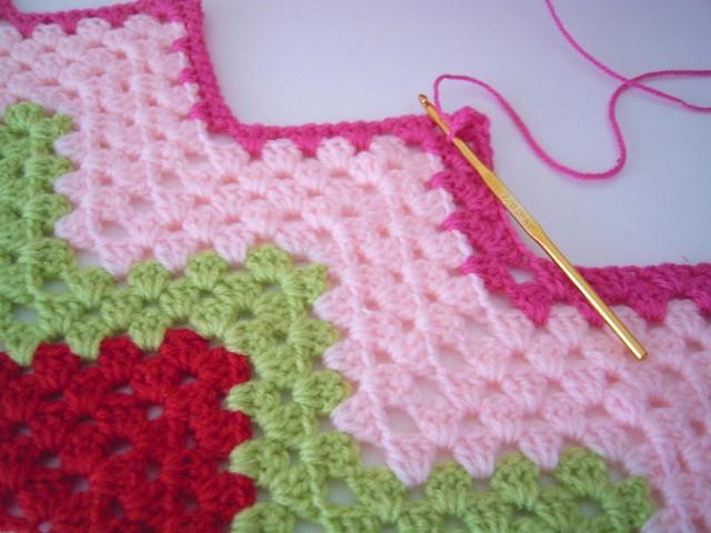 Crochet Pattern For Zig Zag Rug : rug sarah london textiles Flickr