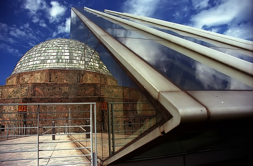"Chicago - Adler Planetarium Reflected ""Half Made Whole"" 