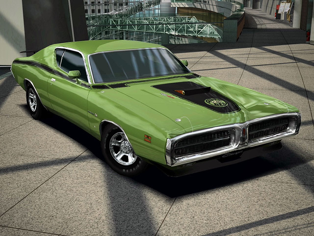 1971 Dodge Charger Super Bee 426 Hemi | Digital vector graph… | Flickr