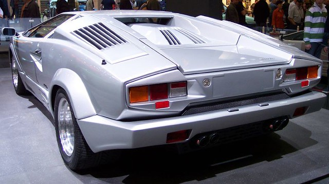 Lamborghini Countach Silver 25 Years Edition Hl Tce Flickr