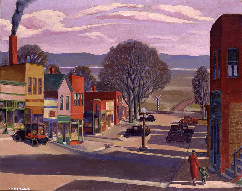 Midwestern Auto Group >> Gale Stockwell: Parkville, Main Street, 1934 | Parkville ...