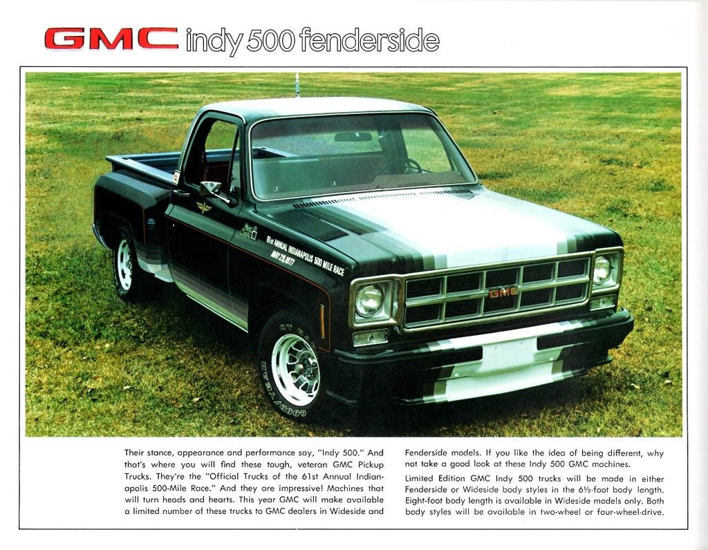 1977 GMC Indy 500 Fenderside Limited Edition Pickup   Flickr