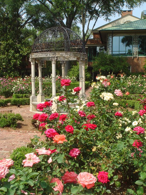 Rose Garden At Furman University John Rife Flickr
