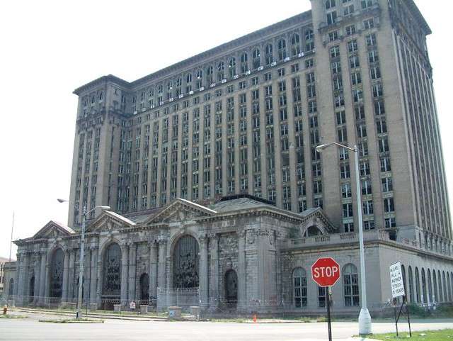 Old Detroit Train Station Pictures Train Station in Detroit