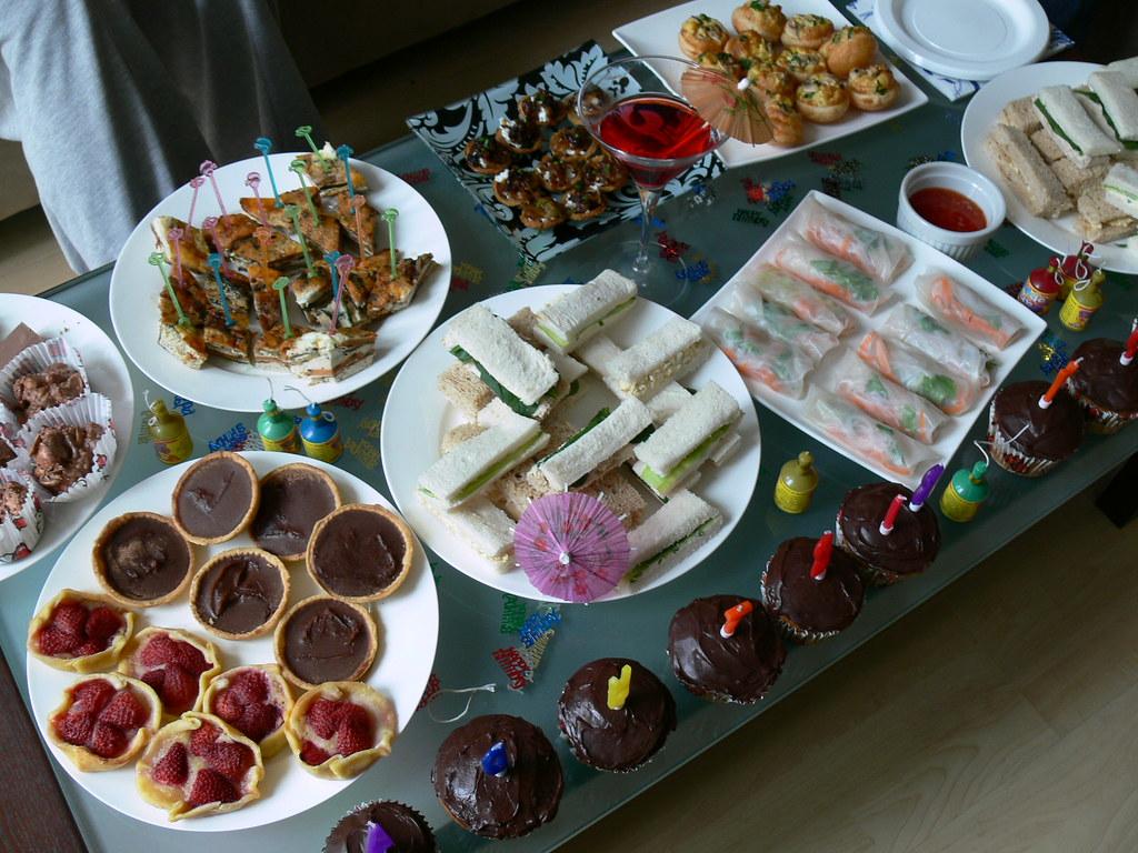 Picnic Finger Foods Jo's Birthday Finger Food