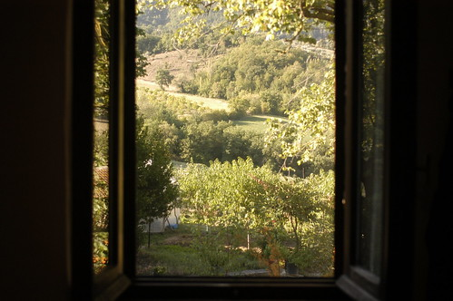the view out the window at Brigolante | by shauna | glutenfreegirl