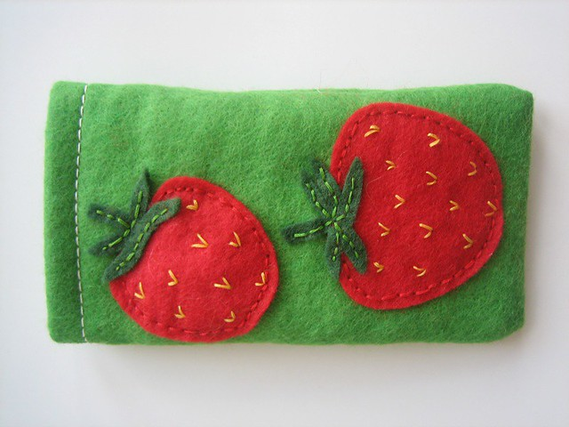 Strawberry phone case | Emma and Chris | Flickr