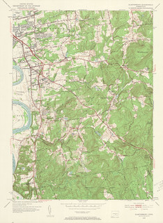 Glastonbury Quadrangle 1953 - USGS Topographic Map 1:24,000 | by uconnlibrariesmagic