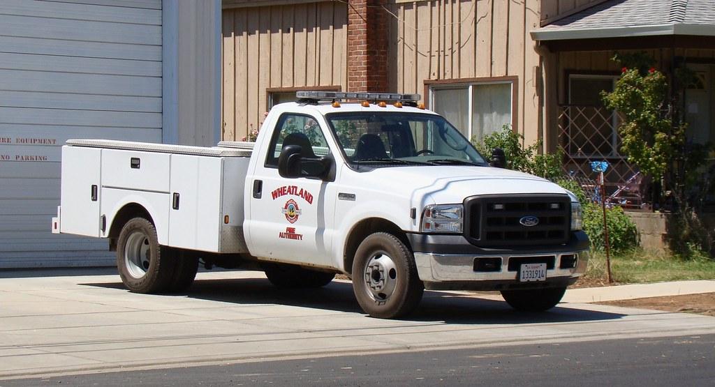 Wheatland fire authority pickup wheatland california yub flickr