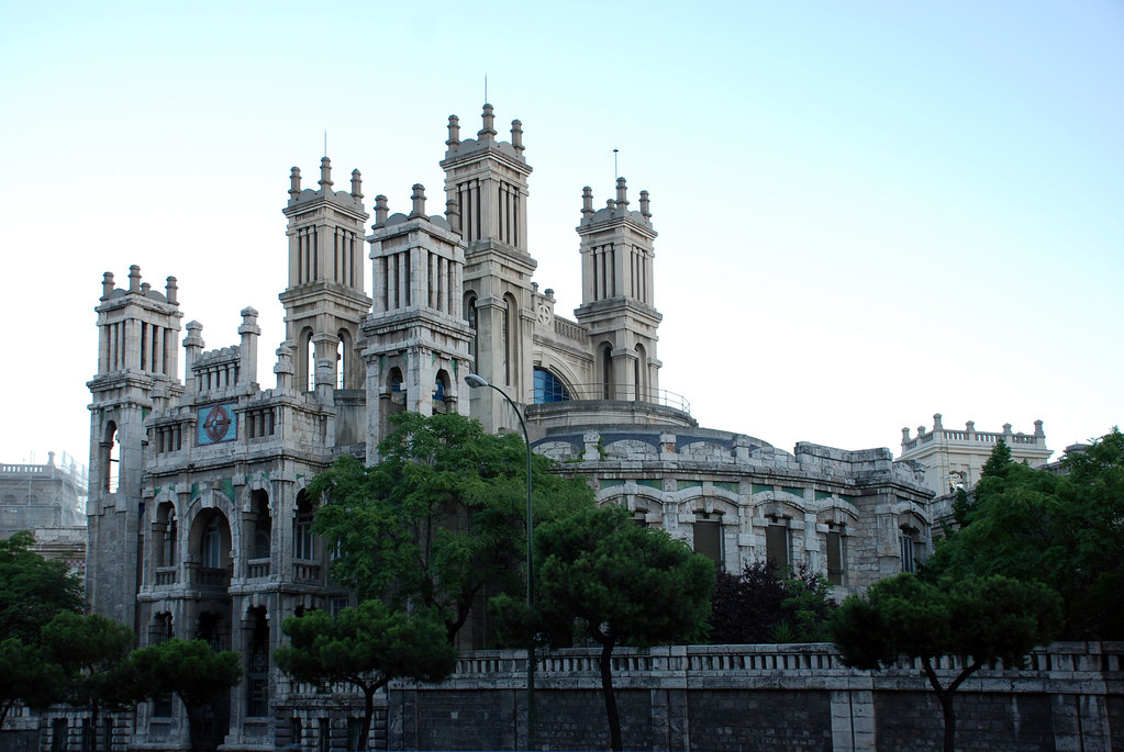 Madrid hospital de maudes el hospital de jornaleros de for Hospital de dia madrid