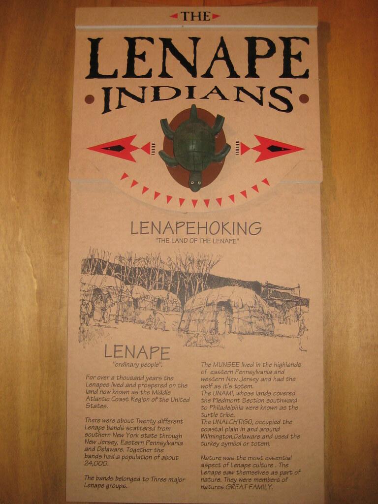 Lenape Indians Food