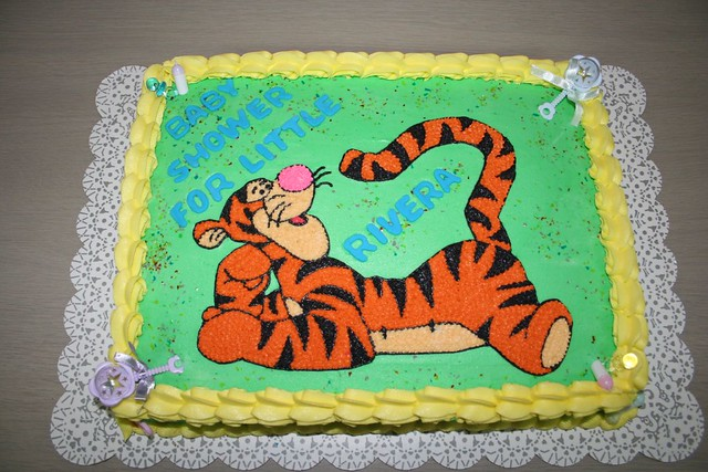 Tigger Baby Shower Cake By Jens Creations