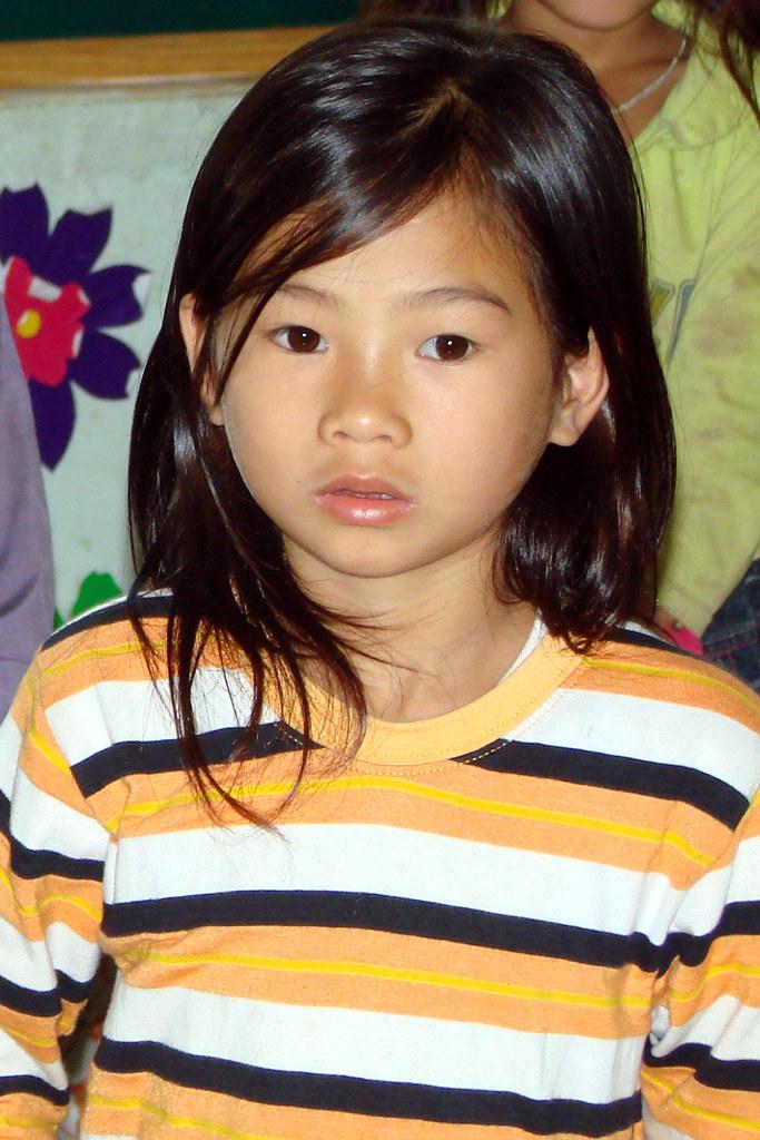 Vietnamese little girl | We visited her school near Thai ...
