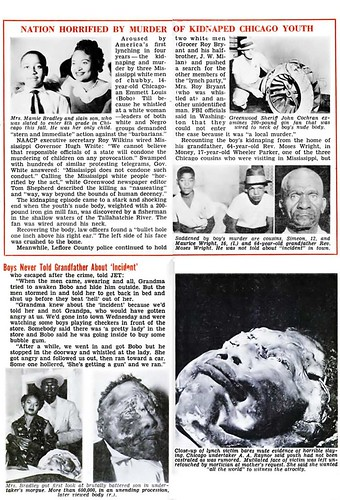 Remembering Emmett Till And the Emmett Till Case - The Nation Is Horrified by the Emmett Till Murder - Jet Magazine, September 15, 1955 | by vieilles_annonces