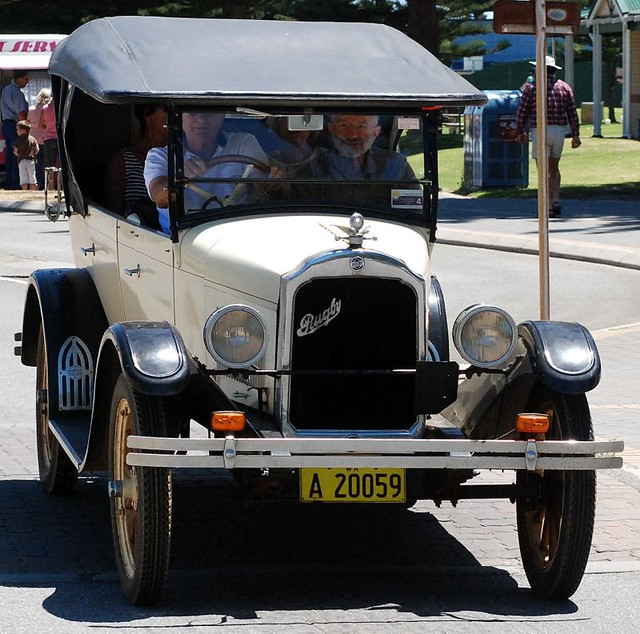 A Well Restored Rugby Car Seen In Albany